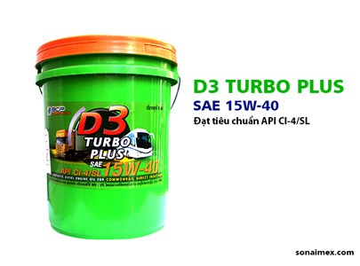 D3 Turbo Plus CI4/SL