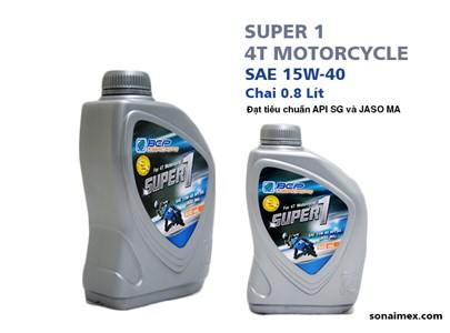 Lubricant for Motorcycle - 0.8L
